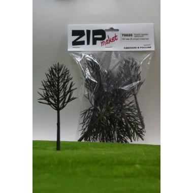 70020 ZIPmaket Каркас дерева овальный 130 мм (9 штук) пластик